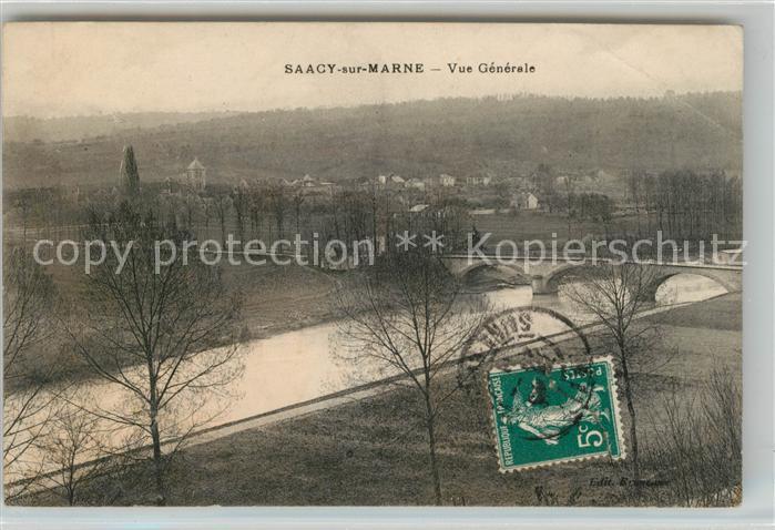 AK / Ansichtskarte Saacy sur Marne Vue generale Kat. Saacy sur Marne