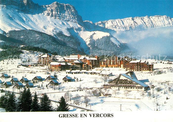 AK / Ansichtskarte Gresse en Vercors Panorama Kat. Gresse en Vercors