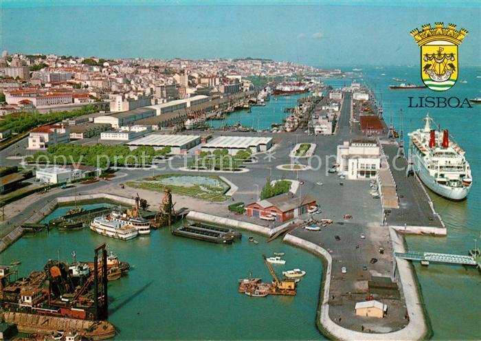 AK / Ansichtskarte Lisboa Porto de Lisboa Kat. Portugal