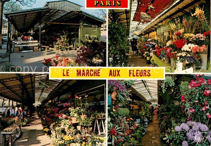 AK / Ansichtskarte Paris Marche aux fleurs Collection Paris et ses merveilles  Kat. Paris