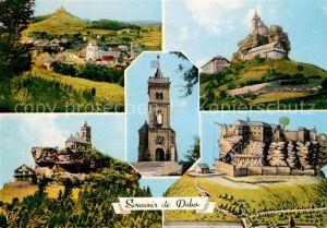 AK / Ansichtskarte Dabo Moselle Vue generale Chapelle St Leon Gravure ancienne Kat. Dabo