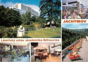 AK / Ansichtskarte Jachymov Lazensky ustav akademika Behounka Kat. Sankt Joachimsthal