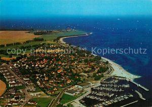 AK / Ansichtskarte Strande Holstein Fliegeraufnahme Kat. Strande