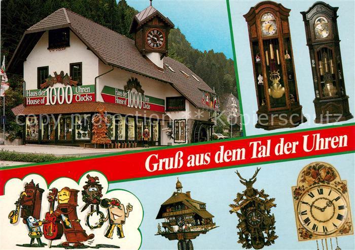 AK / Ansichtskarte Uhren Haus der 1000 Uhren Triberg Gremmelsbach  Kat. Technik