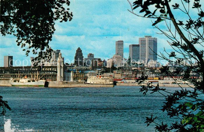 AK / Ansichtskarte Montreal Quebec Montreal harbor Kat. Montreal