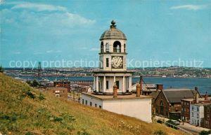 AK / Ansichtskarte Halifax Nova Scotia The Old Citadel Clock Kat. Halifax
