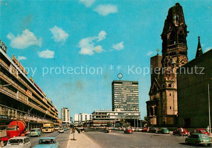 AK / Ansichtskarte Berlin Europacenter mit Gedaechtniskirche Kat. Berlin