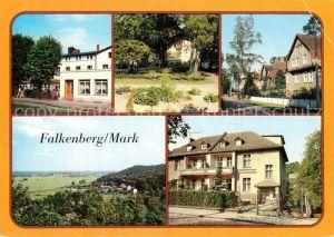 AK / Ansichtskarte Falkenberg Mark FDGB Erholungsheim Theodor Fontane Platz Oderbruch Bettenhaus Kat. Falkenberg Mark