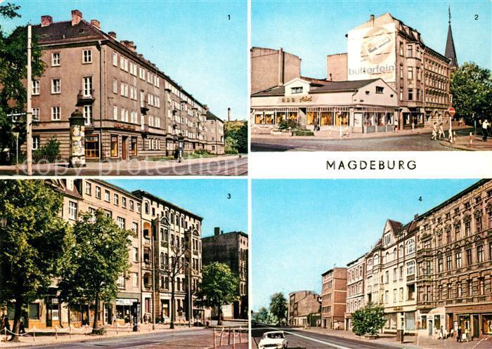 AK / Ansichtskarte Magdeburg Grosse Diesdorfer Strasse Eiskellerplatz Olvenstedter Strasse Halberstaedter Strasse Kat. Magdeburg