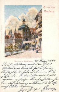 AK / Ansichtskarte Bamberg Rathaus Kat. Bamberg