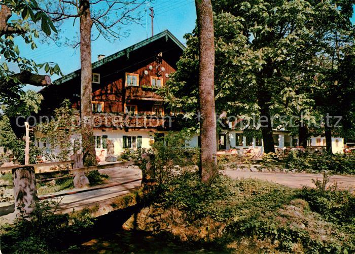 AK / Ansichtskarte Bad Heilbrunn Gasthaus Cafe Ramsau  Kat. Bad Heilbrunn
