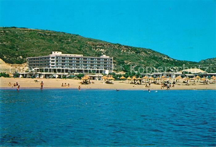 Rhodos Karte Faliraki.Ak Ansichtskarte Faliraki Rhodos Rhodos Beach Hotel Kat Faliraki