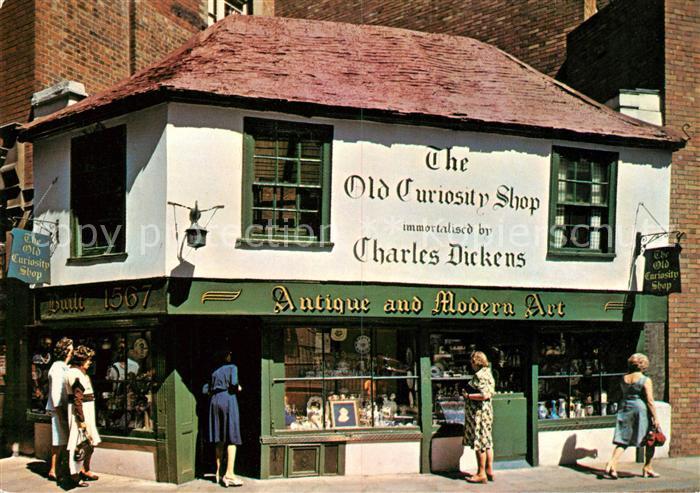 AK / Ansichtskarte London The Old Curiosity Shop Kat. City of London