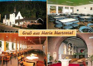 AK / Ansichtskarte Kaisersesch Wallfahrtskirche Maria Martental Kat. Kaisersesch