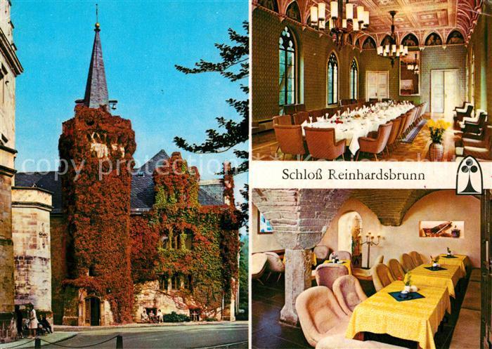 AK / Ansichtskarte Reinhardsbrunn Schloss Ahnensaal Kat. Friedrichroda