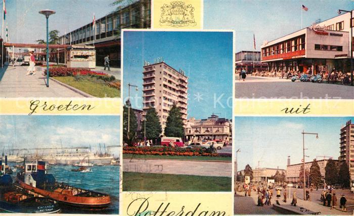 AK / Ansichtskarte Rotterdam Orts und Teilansichten Kat. Rotterdam