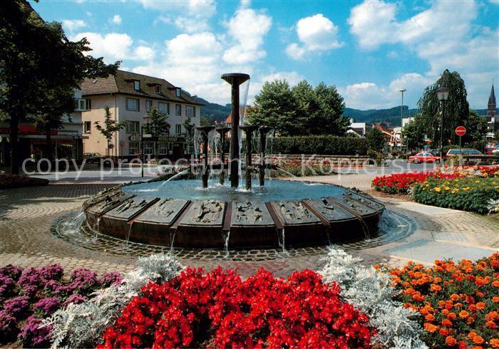 AK / Ansichtskarte Bad Driburg Dreizehnlinden Brunnen Kat. Bad Driburg