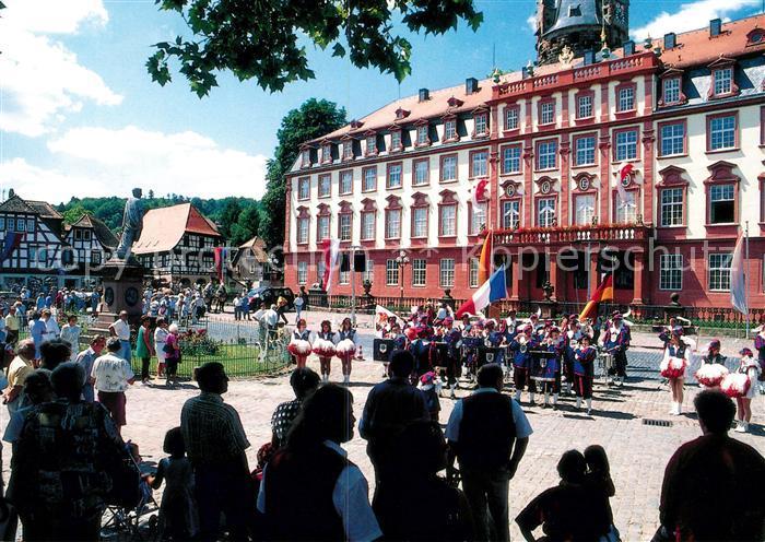 Ak Ansichtskarte Erbach Odenwald Erbacher Schloss Kat Erbach Nr