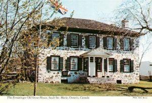 AK / Ansichtskarte Sault Ste. Marie Ermatinger Old Stone House Kat. Sault Ste. Marie