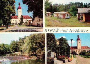 AK / Ansichtskarte Jindrichuv Hradec Straz nad Nezarkou Autocamping  Kat. Neuhaus