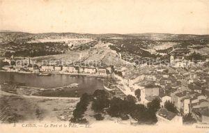 AK / Ansichtskarte Cassis Le Port et la Ville Kat. Cassis