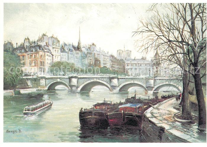 AK / Ansichtskarte Paris Pont Neuf Kat. Paris