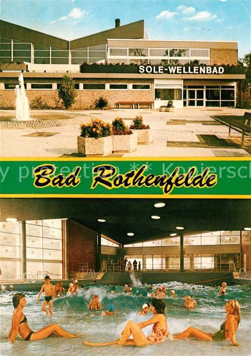 Bad rothenfelde v 1955 sole schwimmbad 27203 nr for Schwimmbad bad rothenfelde