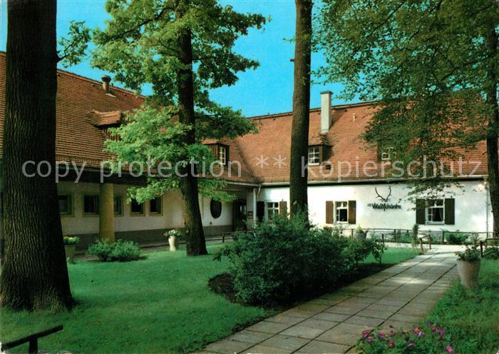 AK / Ansichtskarte Moritzburg Sachsen Waldschaenke Moritzburg Kat. Moritzburg Dresden