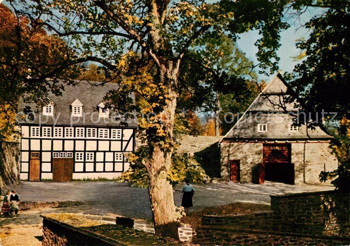 AK / Ansichtskarte Bilstein Sauerland Jugendburg Bilstein