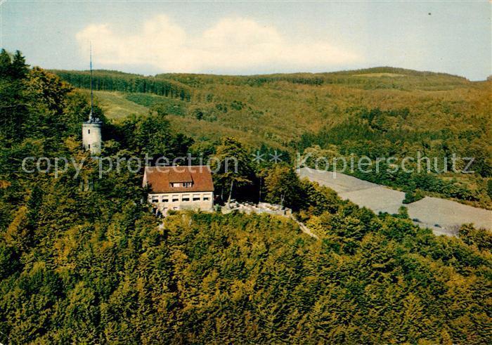 AK / Ansichtskarte Bad Driburg Iburgplateau mit der Sachsenklause Kat. Bad Driburg