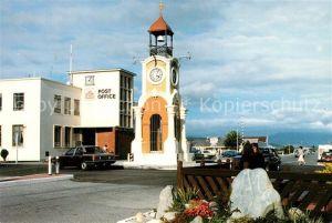 AK / Ansichtskarte Westland Neuseeland Hokitika Clock Tower and Post Office