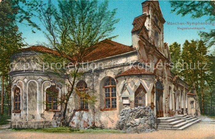 AK / Ansichtskarte Muenchen Nymphenburg Magdalenenkapelle Kat. Muenchen