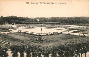 AK / Ansichtskarte Fontainebleau Seine et Marne Palais de Fontainebleau Le Parterre Kat. Fontainebleau