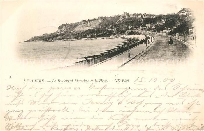 AK / Ansichtskarte Le Havre Boulevard Maritime et le Havre Kat. Le Havre