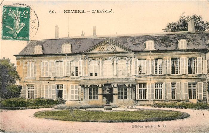 AK / Ansichtskarte Nevers Nievre Eveche Kat. Nevers