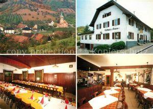 AK / Ansichtskarte oedsbach Gasthaus zur Krone Speisesaal Kat. Oberkirch