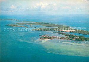 AK / Ansichtskarte Bahamas Green Turtle Cay Fliegeraufnahme Kat. Bahamas