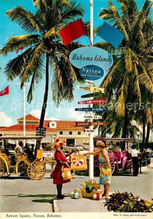 AK / Ansichtskarte Nassau Bahamas Rawson Square