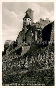AK / Ansichtskarte Hornberg Altensteig Burg Hornberg am Neckar Goetz von Berlichingen Kat. Altensteig