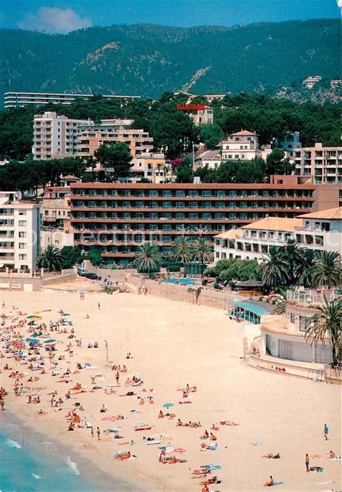 Ak Ansichtskarte Cala Mayor Hotel Playa Calamayor Playa Vista Aerea Kat Cala Major Palma De Mallorca
