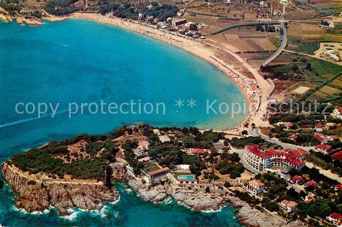 AK / Ansichtskarte S Agaro Vista aerea de la bahia Kat. Costa Brava Spanien