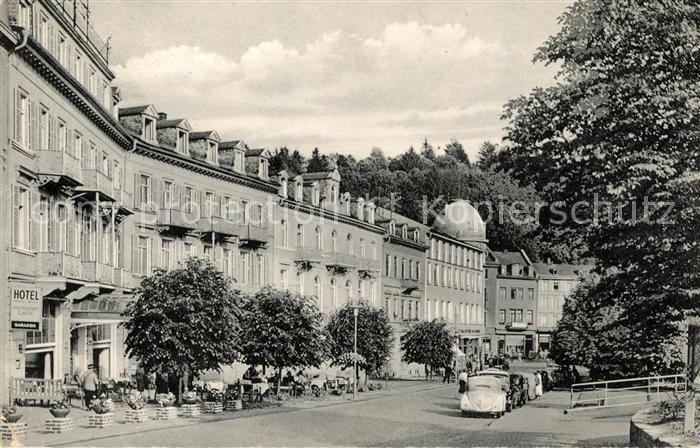 AK / Ansichtskarte Bad Schwalbach Neustrasse Kat. Bad Schwalbach