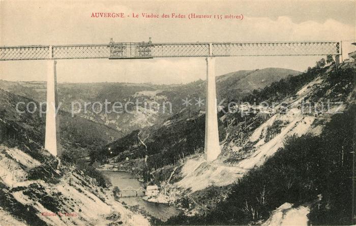 AK / Ansichtskarte Auvergne Region Le Viaduc des Fades Kat. Clermont Ferrand