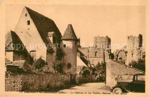 AK / Ansichtskarte Bourbon l Archambault Le Chateau et les Vieilles Maisons Kat. Bourbon l Archambault