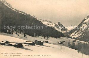 AK / Ansichtskarte Modane Vallee du Lavoir en hiver Kat. Modane