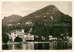 AK / Ansichtskarte Cassarate Lugano TI Strandhotel Seegarten Kat. Lugano