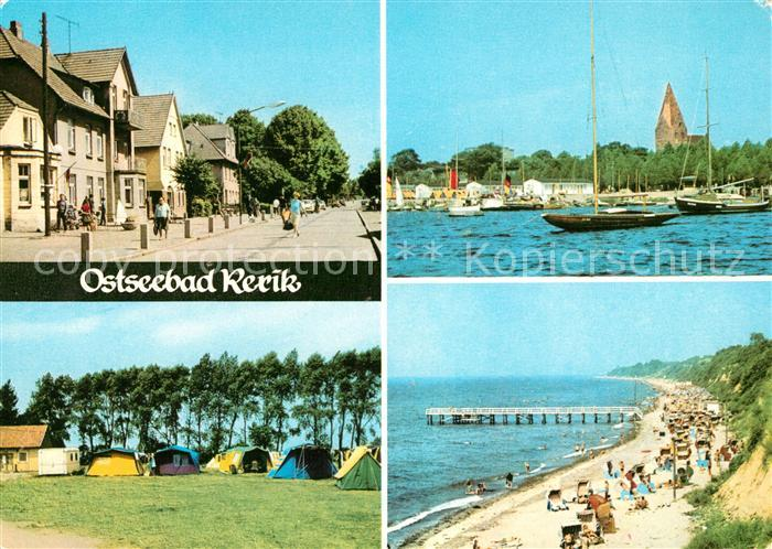AK / Ansichtskarte Rerik Ostseebad Zeltplatz Strand Hafen Kat. Ostseebad Rerik