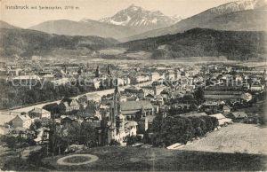 AK / Ansichtskarte Innsbruck mit Serlesspitze Kat. Innsbruck
