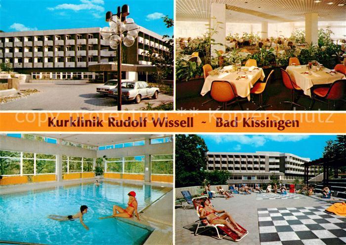 AK / Ansichtskarte Bad Kissingen Kurklinik Rudolf Wissell Hallenbad Kat. Bad Kissingen