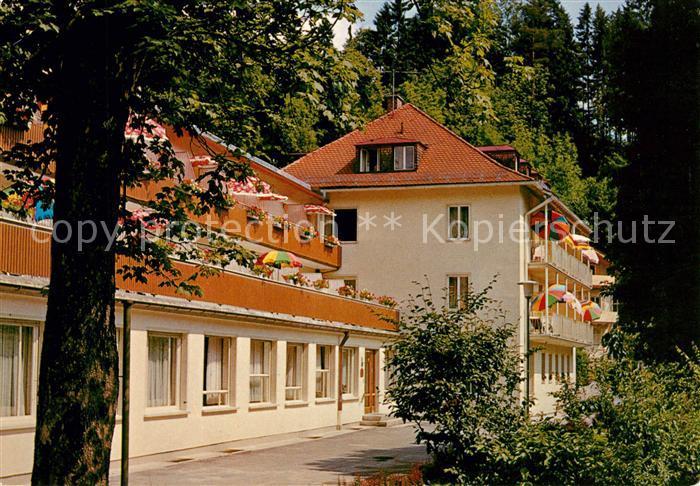 AK / Ansichtskarte Bad Faulenbach Sanatorium Notburgaheim Kat. Fuessen